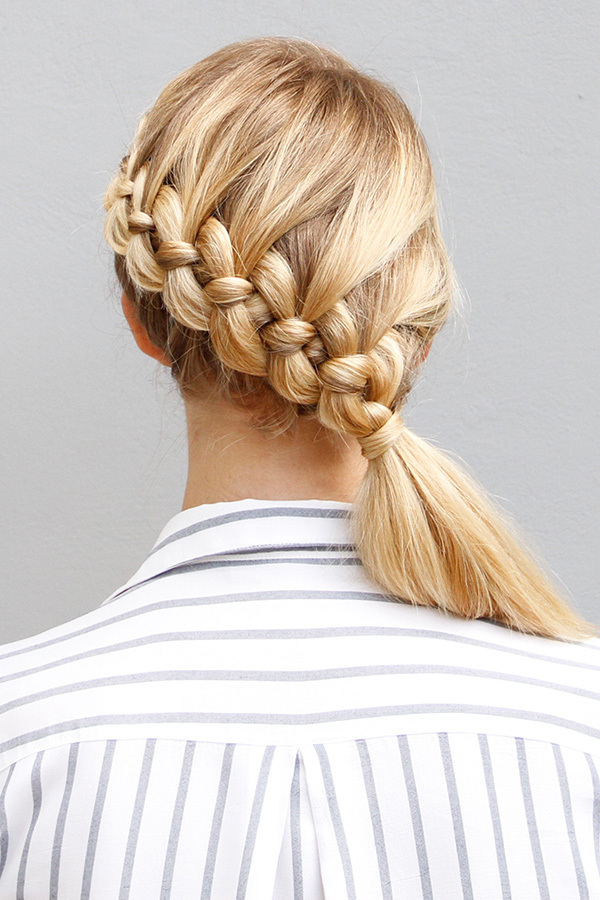 Spiral-Braid Most Adorable Long Hairstyles with Braids