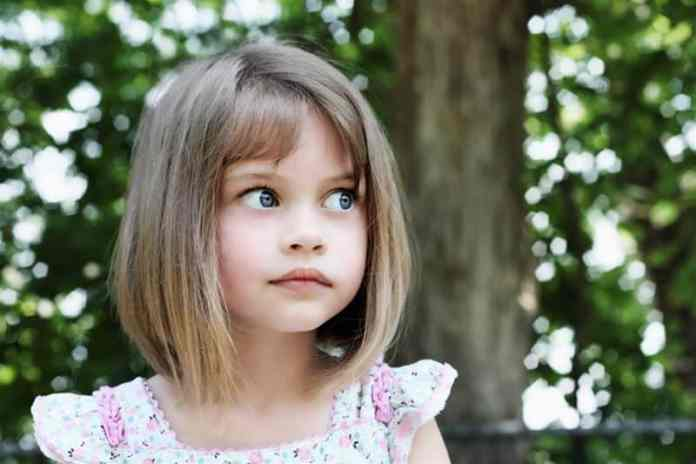 Textured-Hairstyle Cute and Adorable Little Girl Haircuts