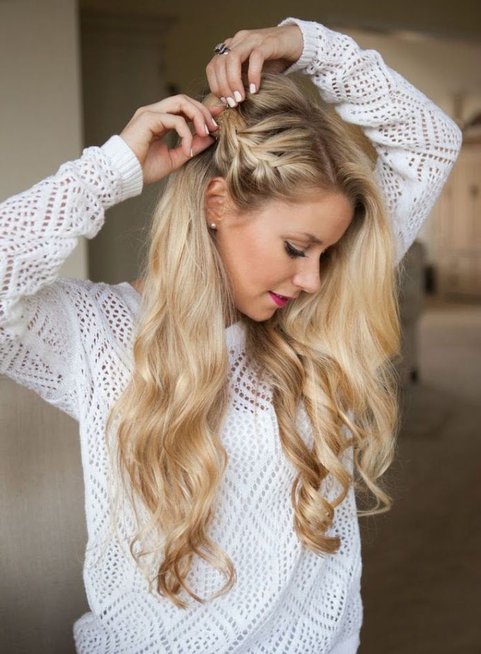 The-Waterfall-Twist Most Adorable Long Hairstyles with Braids