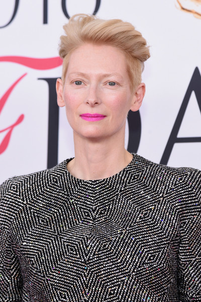 Tilda-Swinton-Wind-blown-Haircut Trendy Celebrity Short Hairstyles You'll Want to Copy