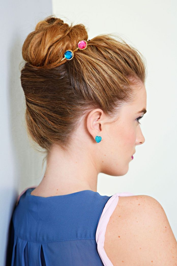 Twisted-Bun-Hairstyle-1 Spring Hairstyles to Outshine Your Beauty