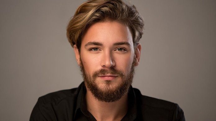 Twisted-Slick-Back-Hairstyle Ultra Dashing Medium Hairstyles for Boys