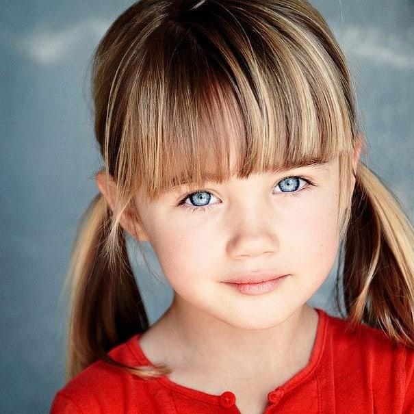Urban-Fringe-Haircut Cute and Adorable Little Girl Haircuts