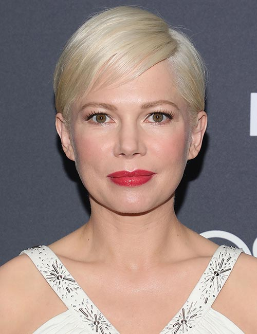 White-Blonde Celebs With Stunning Short Hairstyles
