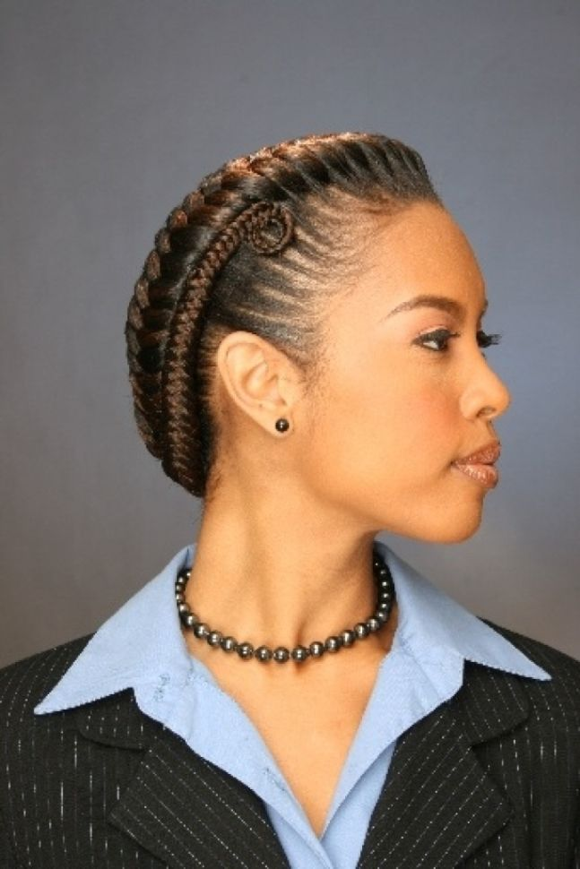African-Fishtail-Braid Stylish and Stunning African American Braids
