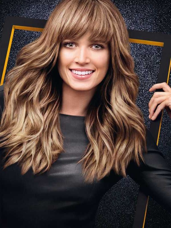 Attractive-fall-hairstyle-for-an-oval-face-in-Fall Most Attractive Fall Hairstyles to Try This Year