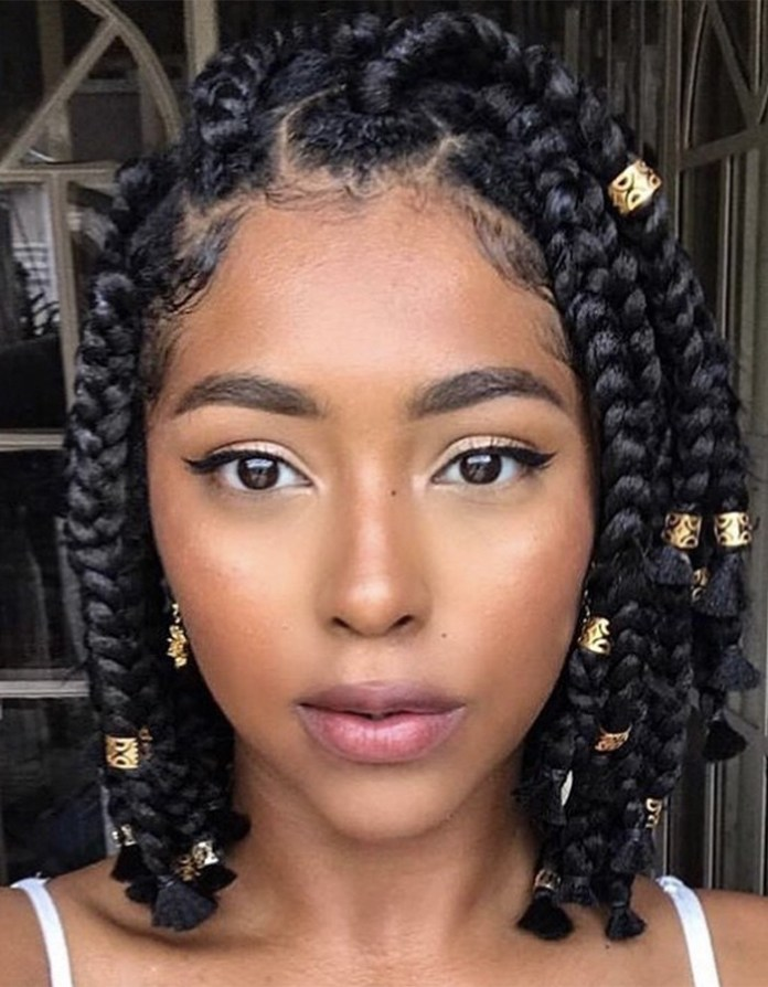 Braided-Bob Braided Hairstyles You Need to Try Next