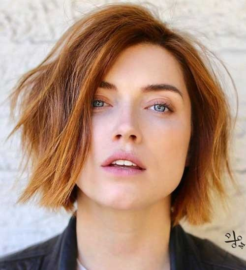 Choppy-Look Short Bob Cuts for Stylish Ladies