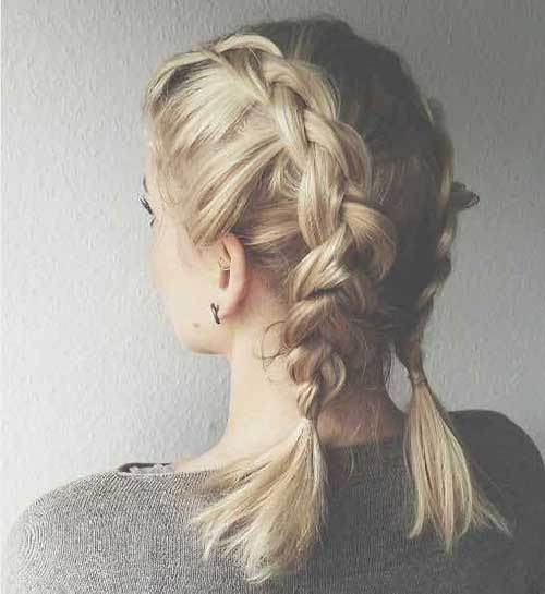 Cute-Braids-for-Short-Hair-2 Alternatives Cute Braids for Short Hair