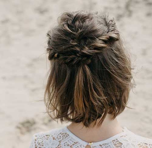 Cute-Braids-for-Short-Hair-4 Alternatives Cute Braids for Short Hair