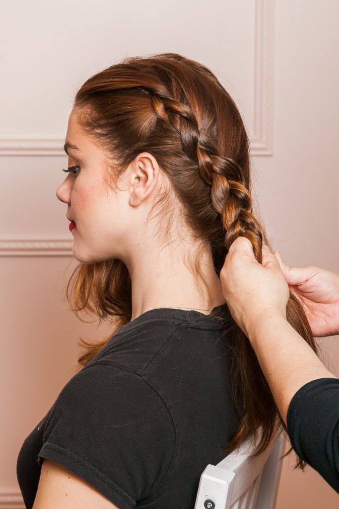 Cute-French-Plait Stylish and Modern Braids Hairstyles