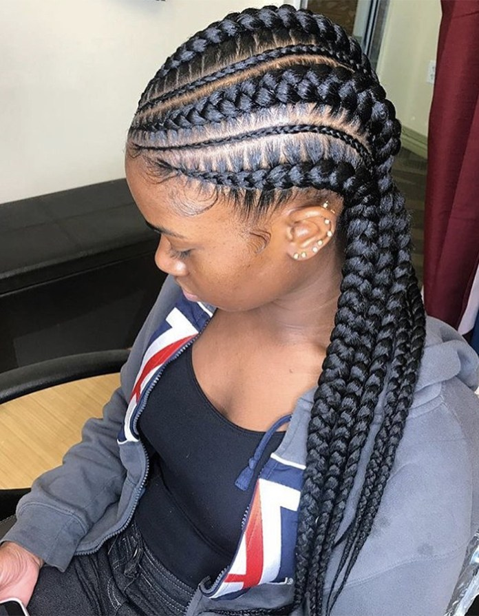 Feed-in-Braids Braided Hairstyles You Need to Try Next