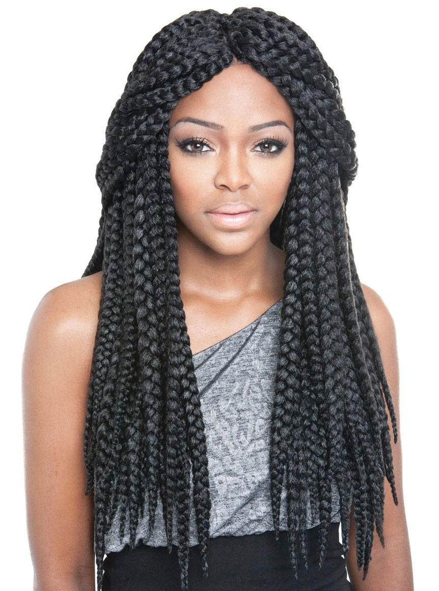 Jumbo-Box-Braid Poetic Justice Braids to Flaunt Your Fabulous Look