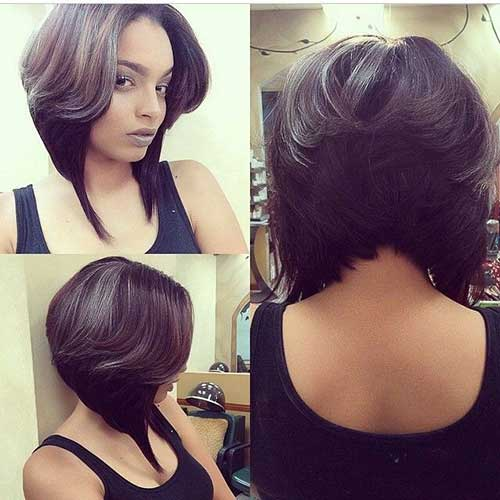 Layered-Bob-Haircut-for-Black-Women Stylish and Perfect Layered Bob Hairstyles for Women