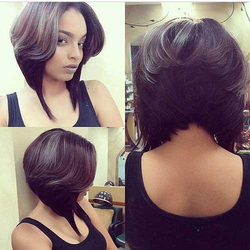 Layered-Bob-Haircut-for-Black-Women Stylish and Perfect Layered Bob Hairstyles for Women