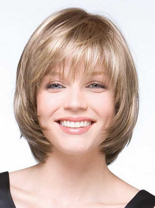 Layered-Bob-Haircuts-for-Round-Faces Stylish and Perfect Layered Bob Hairstyles for Women
