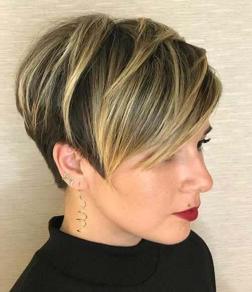 Layered-Pixie-Hairstyle Best Layered Pixie Hairstyles