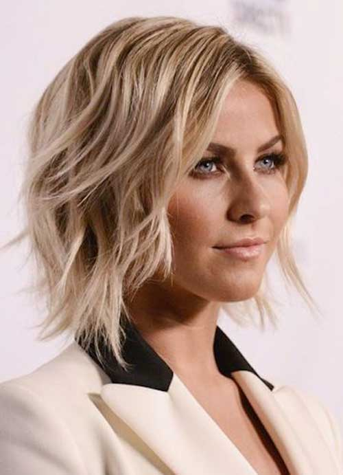 Long-Layered-Wavy-Bob Stylish and Perfect Layered Bob Hairstyles for Women