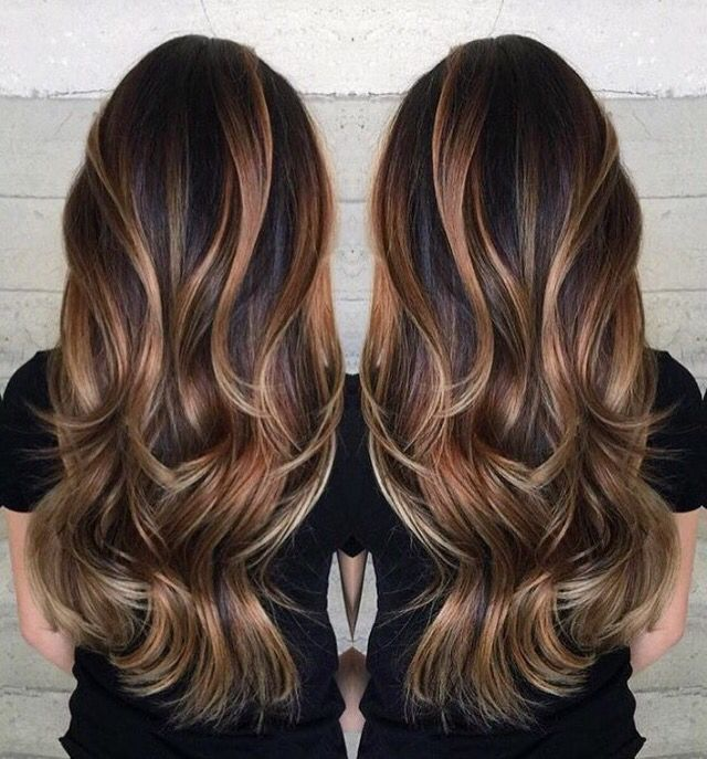 Long-stunning-hairstyle-with-curvy-ends Most Attractive Fall Hairstyles to Try This Year