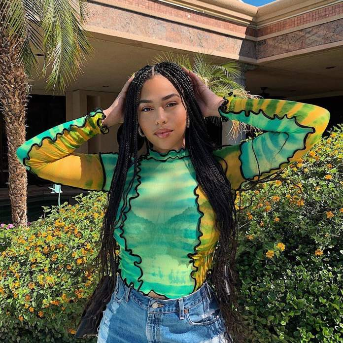 Middle-Parted-Box-Braid-Hairstyle Cool and Trendy Knotless Box Braids Styles