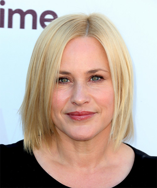 Patricia-Arquette-Medium-Straight-Bob-Hairstyle Hottest And Trendy Bob Haircuts For Stylish Look