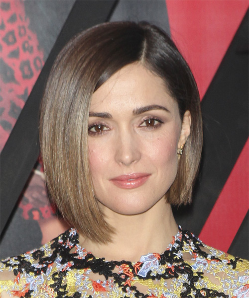 Rose-Byrne-Medium-Straight-Bob-Hairstyle Hottest And Trendy Bob Haircuts For Stylish Look
