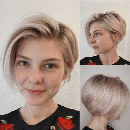 Short-Blonde-Bob-Style Short Bob Cuts for Stylish Ladies
