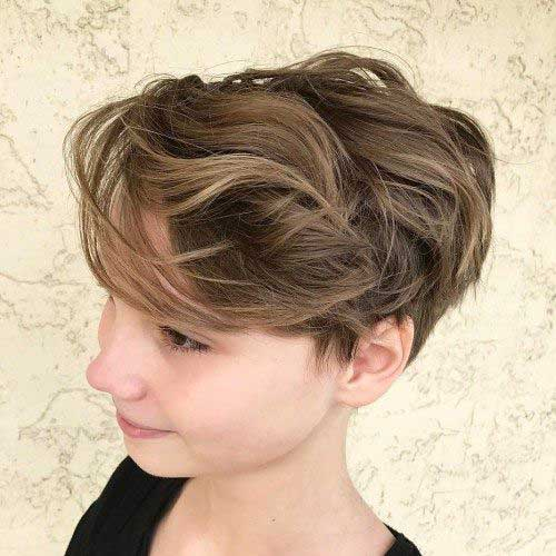 Short-Layer-Thick-Hair-Cut Latest Pictures of Short Layered Haircuts