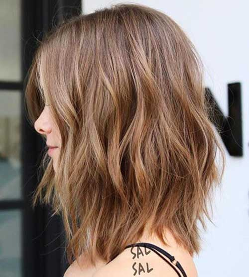 Short-To-Mid-Layered-Haircut-2019 Latest Pictures of Short Layered Haircuts