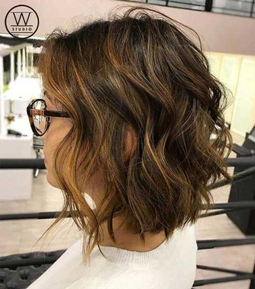 Short-Wavy-Bob-Haircut Best Short Wavy Bob Haircuts
