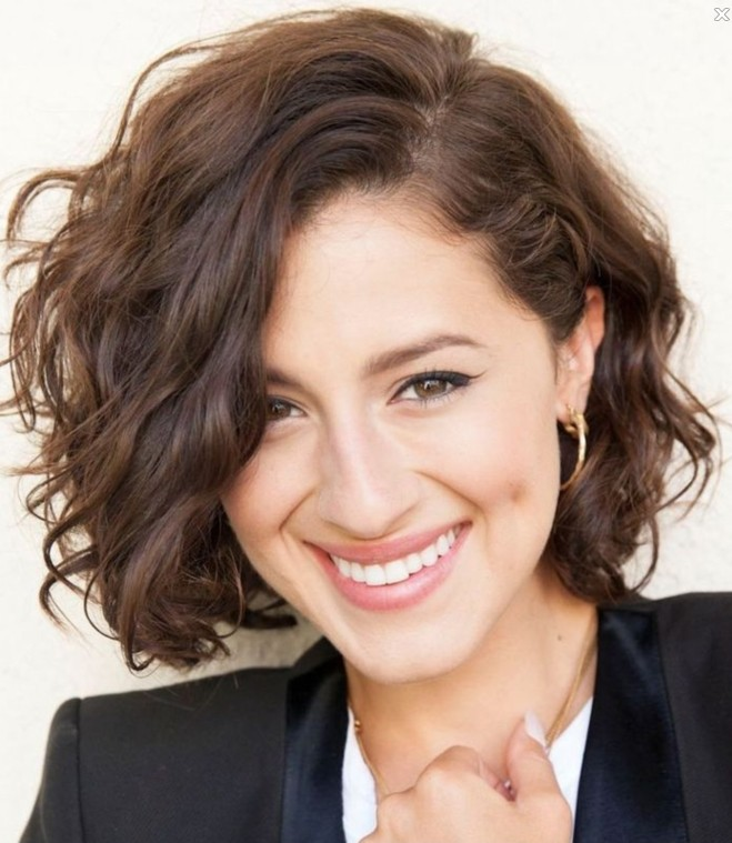 Short-Wavy-Hairstyle Everyday Short Hairstyles for Fabulous Look