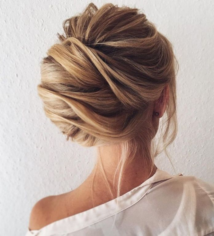 Side-Twisted-Chignon-Hairstyle Most Gorgeous Looking Chignon Hairstyles