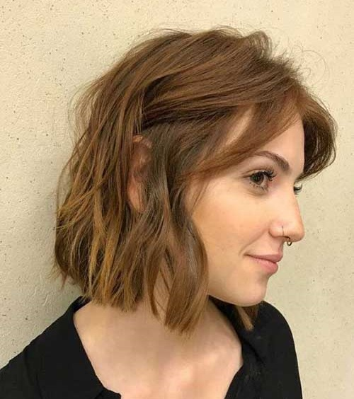 Simple-Style Best Short Wavy Bob Haircuts