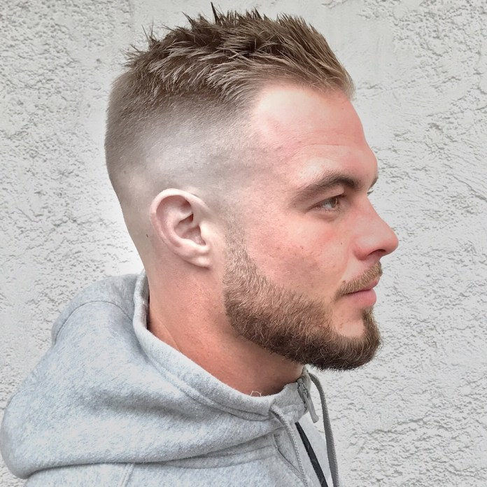 Spike-Haircut Most Dynamic and Dashing Crew Cut for Men