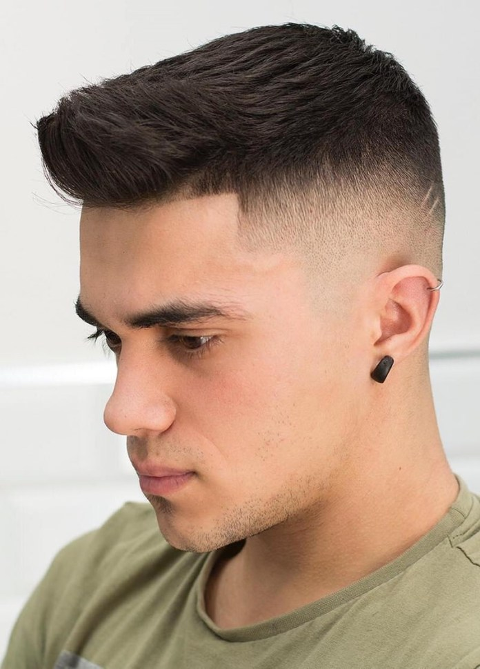 Taper-Crew-Cut Most Dynamic and Dashing Crew Cut for Men