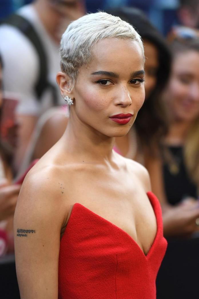 Trimmed-One-Sided-Hairstyle Celebrity Short Hairstyles for Glamorous Look