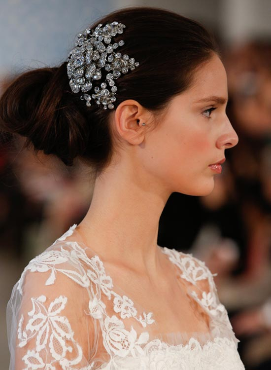 Unique-Twisted-Loop Bridal Hairstyle Ideas For Your Reception