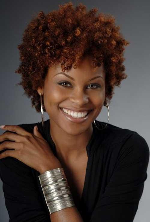 Afro-textured-hair-styles Short Hair for Black Women