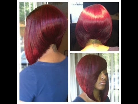Angled-Bob Sew In Bob Hairstyles To Give You New Looks