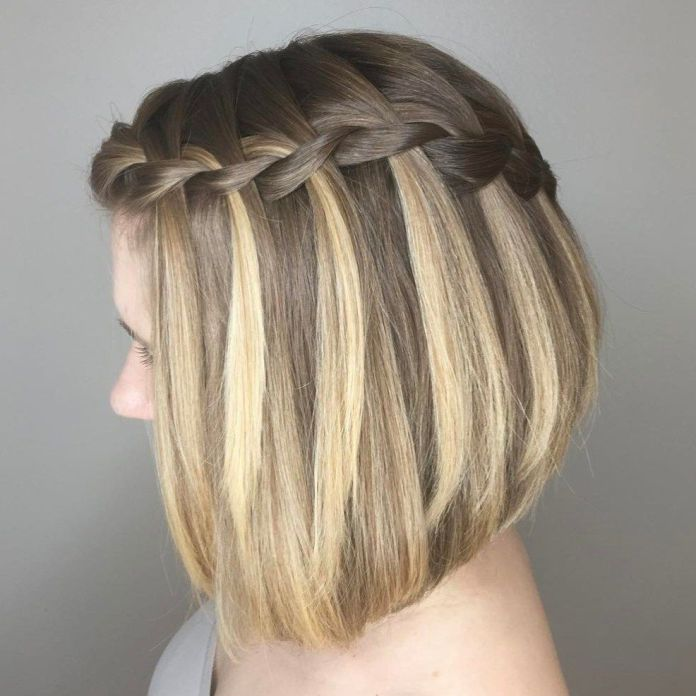 Avalanche-Braid Hot and Happening Girls Hairstyles for Party