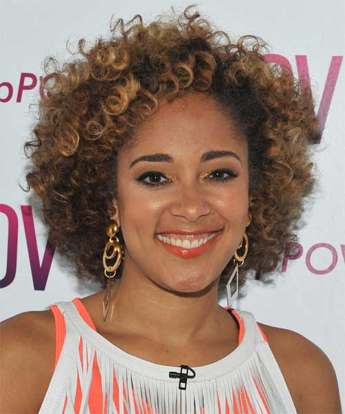 Best-Popular-Short-Curly-Hairstyle-for-Black-Women Best Bob Cuts for Curly Hair