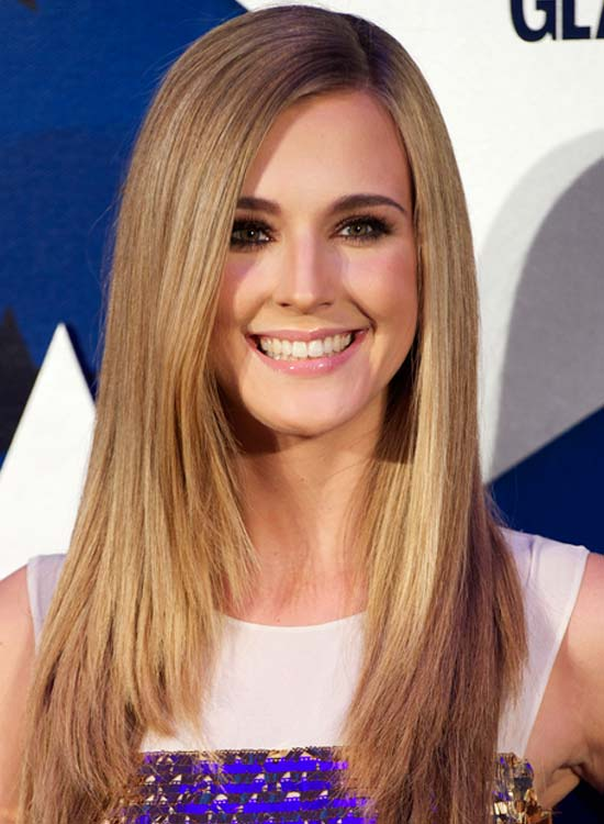 Blonde-Edgy-Long-Straight-Haircut- Most Glamorous Long Straight Hairstyles for Women