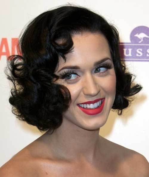 Bob-Style-for-Curly-Hair-with-Glamorous-Look Best Bob Cuts for Curly Hair
