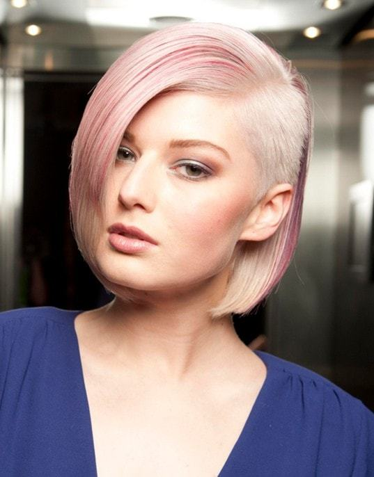 Colored-extensions Sew In Bob Hairstyles To Give You New Looks