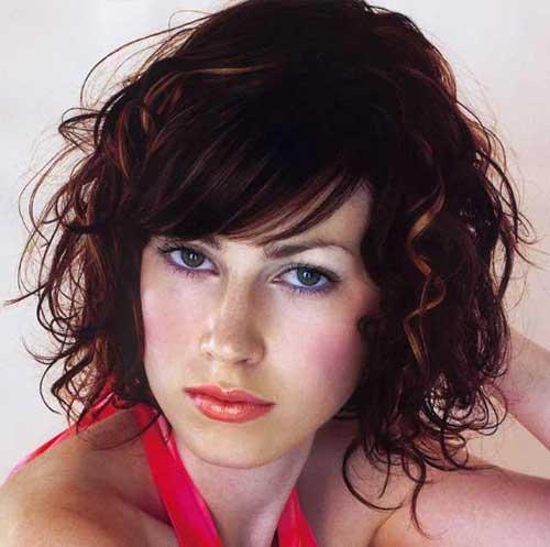 Curly-Hair-Medium-Cut-with-Bob-Hair Best Bob Cuts for Curly Hair