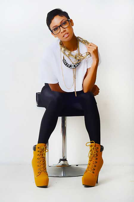 Cute-and-Pretty-Pixie-Cut Short Hairstyles for Black Women 2020