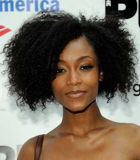 Fabulous-and-Gorgeous-Curly-Bob-Hair Short Hairstyles for Black Women 2020