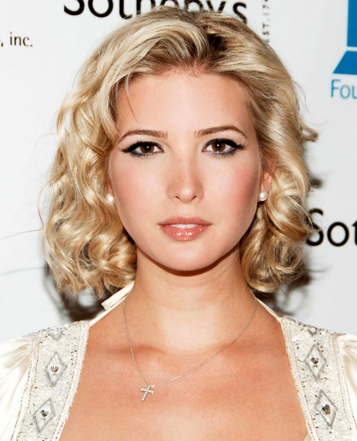 Finished-Lob Very Attractive Ivanka Trump Hairstyles