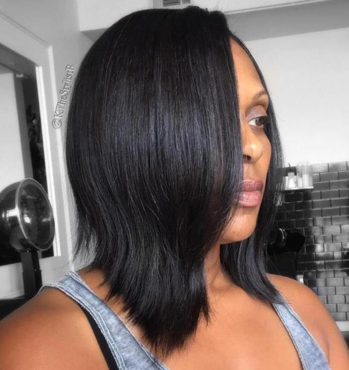 Flowing-Waved-Style Stunning Ways to Rock a Sew In Bob Hairstyles