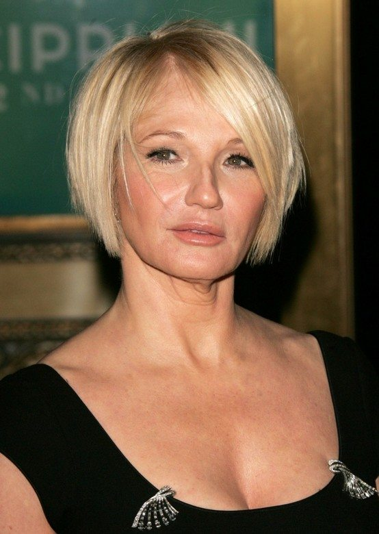 Layered-Straight-Blonde-Bob Bob Hairstyles for Women Over 50 – Be Hot And Happening